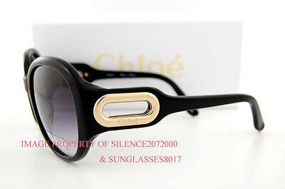 a721d18f4415 Brand New Chloe Sunglasses CL 2193 CL2193 Color C01 BLACK 100% Authentic