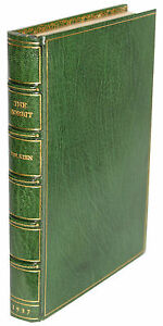 TOLKIEN-THE-HOBBIT-1937-FIRST-PRINTING-BOUND-BY-THE-FAMOUS-CHELSEA-BINDERY-MINT