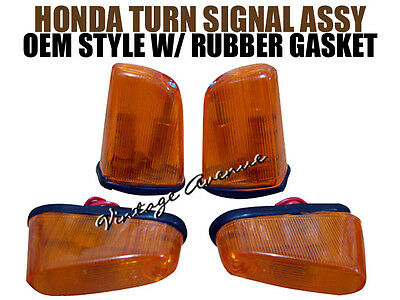 HONDA C100 CA100 C102 CA102 C105 CA105T TURN SIGNAL WINKER [TOP QUALITY] - AMBER