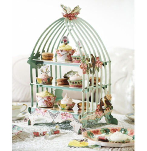 Old English Afternoon Tea Party - Patisserie Cake Stand - Vintage Style Wedding