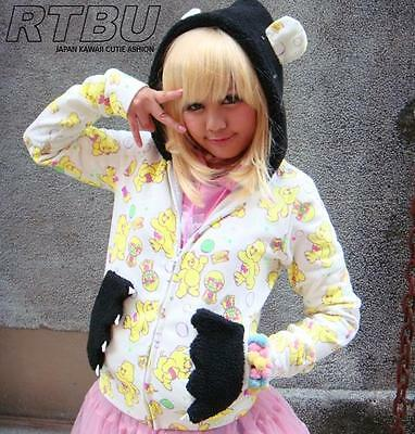 Decora Carebears Teddy Hooded Jacket+Claw Talon Pocket