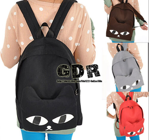 FreeSHIP X 4 COL PUNK CUTE TREND SHOULDER BACKPACK 067403 PU BAG