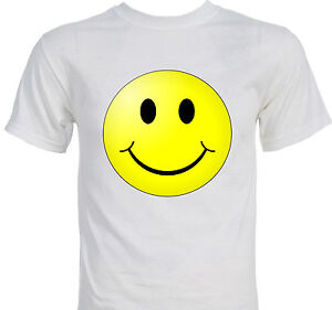 classic smiley face smile t shirt ebay. Black Bedroom Furniture Sets. Home Design Ideas