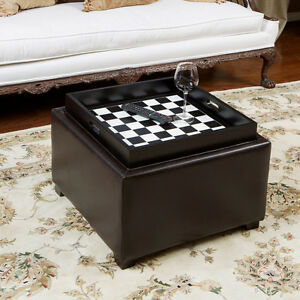Chessboard-Tray-Top-Espresso-Leather-Storage-Ottoman-Coffee-Table