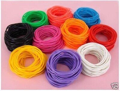 15X Gummy Bands Bracelets Shag Rubber Gummies