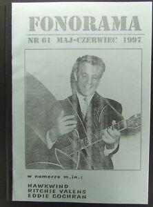 Eddie Cochran, Hawkwind,Ritchie Valens,The Beatles mag.61/1997 - europe, Polska - Zwroty są przyjmowane - europe, Polska