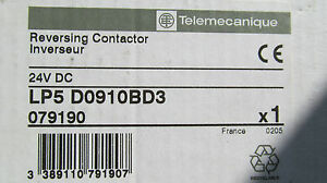 New-in-the-box-Telemecanique-LP5D0910BD3-Reversing-Contactor-Free-Shipping