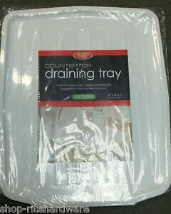 Fits Old Style Countertop Dish Drainer Rack Sloped Tray