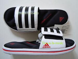 Adidas-men-039-s-Zeitfrei-slide-sandals-Sz-11-d-NEW-FitFOAM-slides-G4451-ff
