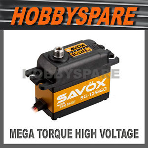 SAVOX-SC-1268SG-MEGA-TORQUE-HIGH-VOLTAGE-DIGITAL-RC-SERVO-25KG-7-4v-METAL-GEAR