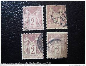 FRANCE-timbre-stamp-yt-n-85-x4-obl-Q
