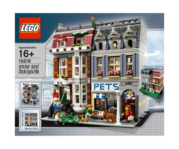 LEGO ® 10218 TOELETTATURA PET SHOP Modular Building Nuovo OVP NEW SEALED