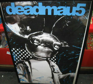 DEADMAU5-RARE-SEALED-NEW-NEVER-OPENED-CANADIAN-IMPORT-POSTER-DJ-RAP-MUSIC