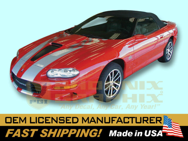 2002 Camaro SS Ram Air Super Sport 35th Decals & Stripes Kit 1998 1999 2000 2001