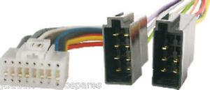 Tevion-Eltax-Bush-Ics-Mos-Sub-Zero-16-Pin-Wiring-Harness-Loom-White-Socket-Only