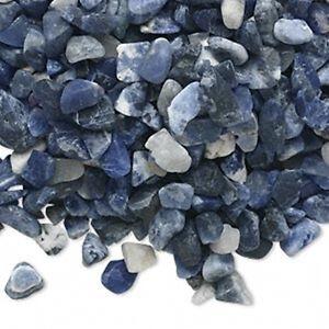 Blue-Sodalite-Gemstone-Un-Drilled-Inlay-Embellishment-Mini-Chips-50-grams