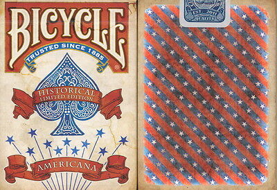 3 DECKS of BICYCLE AMERICANA PLAYING CARDS