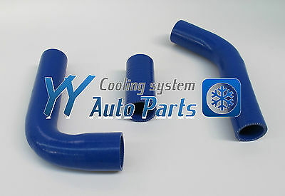 Toyota Hilux LN106/111/107/130 Silicone radiator hoses Blue