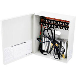 16-Channel-CCTV-Security-Camera-Power-Supply-Box-12-V-DC-16-CH-New