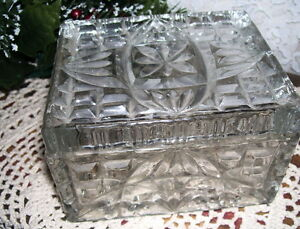 ANTIQUE-PRESSED-LEAD-GLASS-DRESSER-BOX