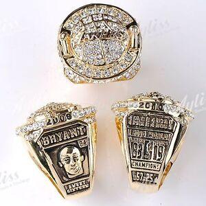 1PC-2010-Basketball-Kobe-Bryant-LA-LAKERS-Champion-Replica-Ring-US-10-Gift-Box