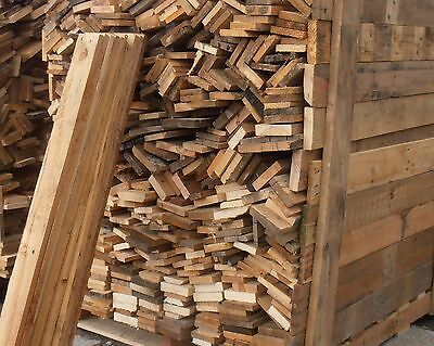 RECLAIMED TIMBER PALLET BOARDS 1.2 metres LONG  SOLD LOTS OF 10 CASH SALE ONLY.