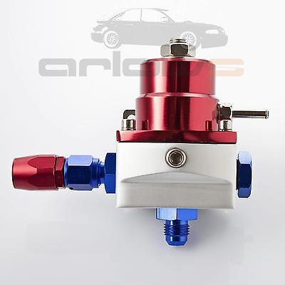 BDR Benzindruckregler FPR Einstellbar 7M-GT mit Manometer 0 - 10 Bar Universal