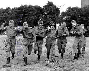 DADS-ARMY-Cast-Signed-Autographed-10x8-PP-RePro-Photo-charge-arthur