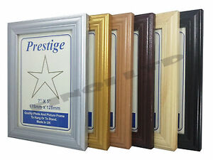 Wood-Effect-Photo-Picture-Frames-Stand-or-Hang-Various-Sizes-and-Colours-LW513