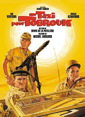 Un Taxi pour Tobrouk Lino Ventura Aznavour movie poster