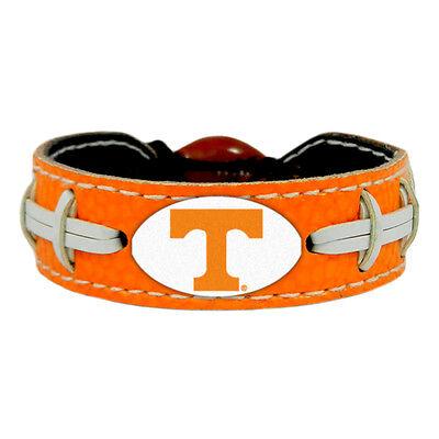 NCAA Team Color Leather Football Bracelet - Pick Team