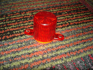 LAZER-TRON-AFTERSHOCK-REDEMPTION-GAME-RED-BULB-COVER-EUC