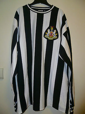 Bnwt Newcastle United Home Retro L/S Shirt 1970