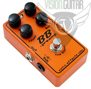 new xotic effects bb preamp pedal bluesbreaker distortion overdrive ebay. Black Bedroom Furniture Sets. Home Design Ideas