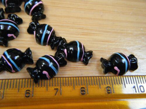 5 X Miniatura Choc húmedas Casa De Muñecas Hielo Lollies Donuts Helados Free UK Post