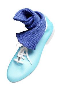 Brillo Azul suela completa Jazz Zapatos De Baile Infantil & Tallas Adulto de