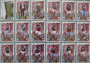 Match-Attax-TCG-Choose-One-2012-2013-Premier-League-West-Ham-Utd-Card-from-List