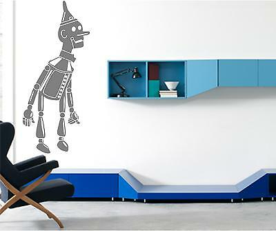 TIN MAN WIZARD OF OZ WALL ART DECAL STICKERS WALL ART CHOOSE FROM 21 COLOURS Part 42
