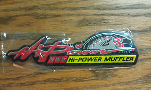 Hi-Power-Muffler-HKS-HI-POWER-FULL-SENSATION-Very-Cool-5-034-x-1-034