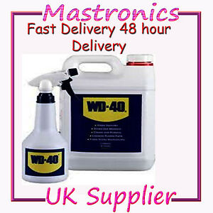 WD-40-WD40-VALUE-PACK-SPRAY-APPLICATOR-INC-5-LITRE-5L-PENETRATES-CLEANS-5Ltr