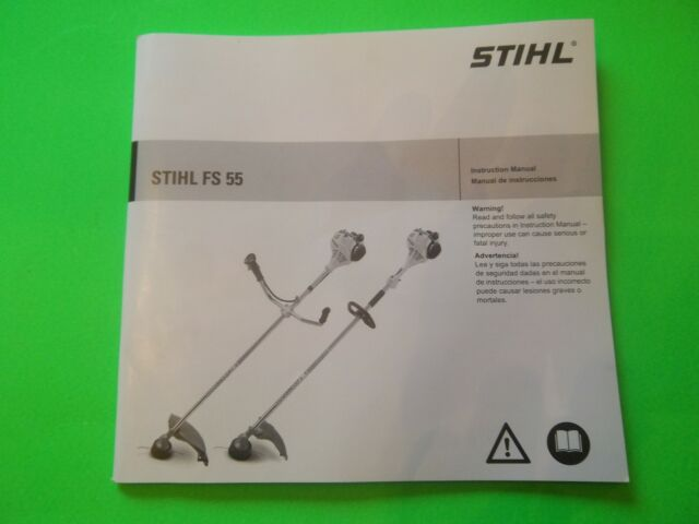 NEW STIHL OWNERS MANUEL / BOOK FITS FS55  FS55R FS55RC OEM TO