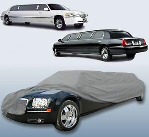 Limousine-Limo-Stretch-Sedan-Car-Cover-GREAT-QUALITY-29-039-FT-in-length