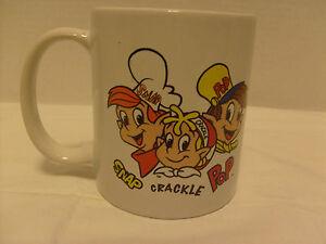 Kellogg-039-s-Snap-Crackle-amp-Pop-Mug-Used