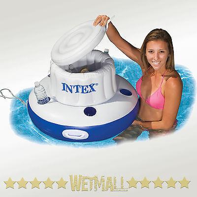 Intex Mega Chill Floating Beverage Cooler Drink Holder Pool Float