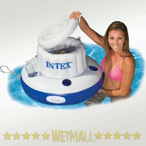 Intex Mega Chill Floating Beverage Cooler Drink Holder Pool Float