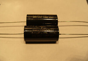6.8 uf 600VDC MUNDORF M-CAP® Supreme Capacitor 6.8 uf 600 VDC for use in AUDIO
