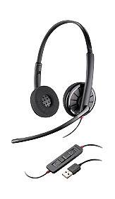 39fe8f6133b Plantronics C320-M Black Headband Headsets for sale online | eBay
