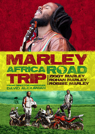 Marley Africa Road Trip (DVD, 2013, 2-Disc Set)   VG   \   FREE SHIPPING
