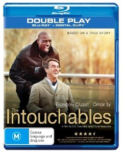 The Intouchables (Blu-ray, 2013, 2-Disc Set) like new