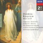 Antonin Dvorak - Dvorák: Requiem; Mass in D (1996)